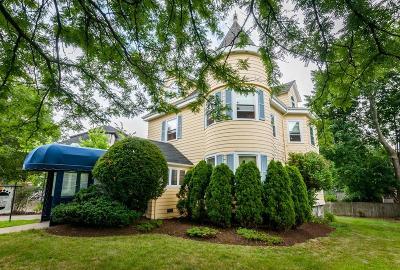 Watertown Multi Family Home Under Agreement: 303 A & B Mt. Auburn Street