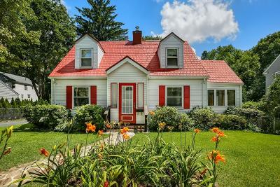 Newton Single Family Home For Sale: 192 Lincoln St