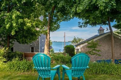 Hingham Single Family Home Under Agreement: 81 Kimball Beach Rd