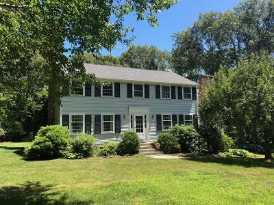 Sherborn Single Family Home Under Agreement: 15 Russett Hill Road