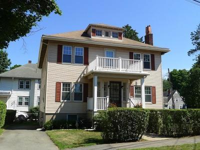 Newton Multi Family Home Under Agreement: 16-18 Grove Street