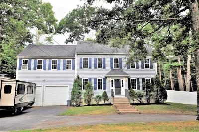 Carver Single Family Home Under Agreement: 8 Bates Pond Rd