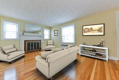Waltham Single Family Home Under Agreement: 71 Edwin Rd