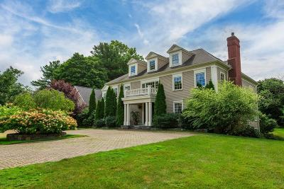 Brookline Single Family Home For Sale: 164 Newton Street