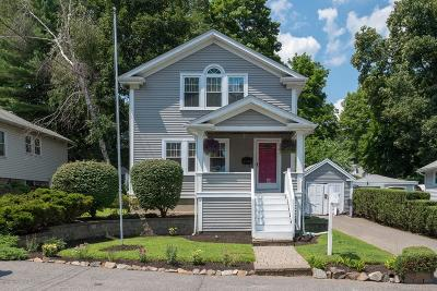 Braintree Single Family Home Under Agreement: 102 Beechwood Road