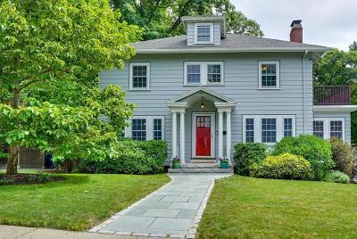 Newton Single Family Home Under Agreement: 69 Dickerman