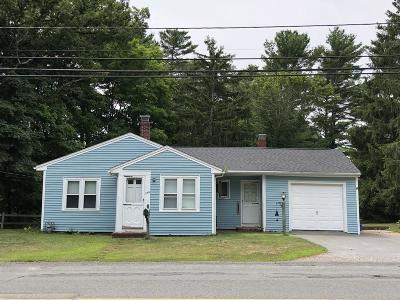 Middleboro Single Family Home Under Agreement: 1148 Centre St