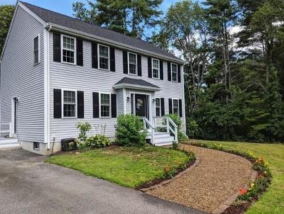 Middleboro Single Family Home Contingent: 29 Katrina Rd