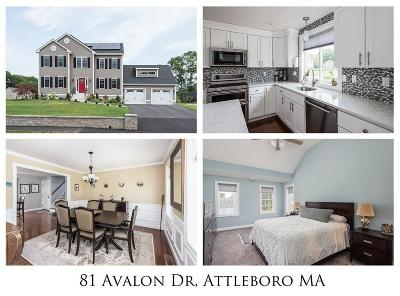 Attleboro Single Family Home For Sale: 81 Avalon Dr