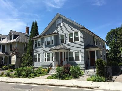 Brookline Rental For Rent: 281 Walnut #1