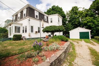 Whitman Single Family Home For Sale: 8 Laurel