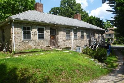 Randolph Single Family Home Under Agreement: 185 South Street