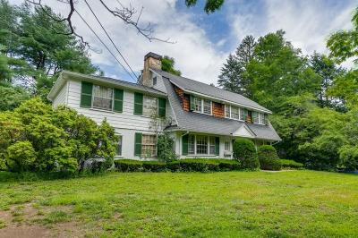 Wayland Single Family Home For Sale: 124 Plain Rd