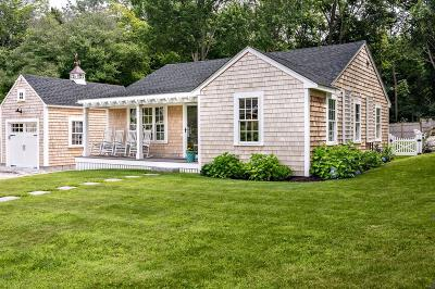 Cohasset Single Family Home Contingent: 128 Pleasant Street