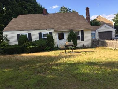 Stoughton Single Family Home Under Agreement: 4 Ralph Mann Dr