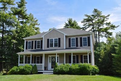 Middleboro Single Family Home Under Agreement: 82 Brookside Dr.