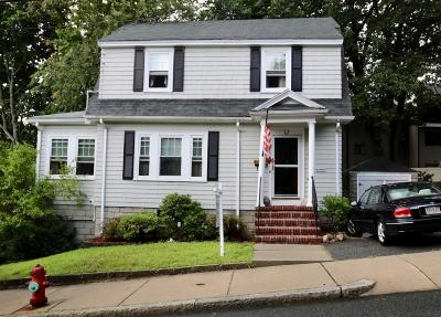 Malden Single Family Home Under Agreement: 155 Floral Ave
