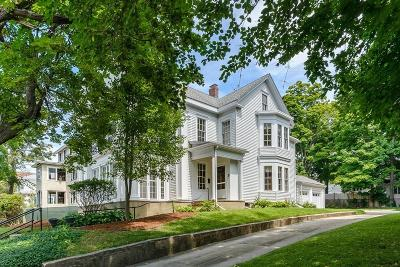 Natick Single Family Home For Sale: 8 Lincoln St