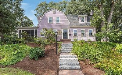 Arlington Single Family Home Under Agreement: 30 Bradley Rd