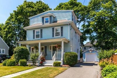 Melrose Single Family Home Under Agreement: 60 East Street