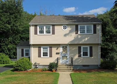 Braintree Single Family Home Under Agreement: 38 Stonewood Ln.
