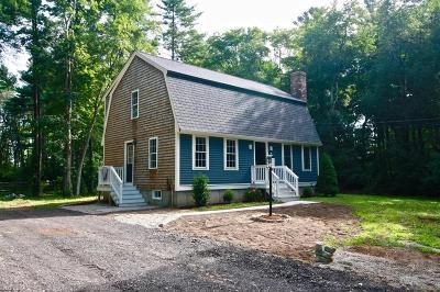 Middleboro Single Family Home Under Agreement: 263 Cedar Street