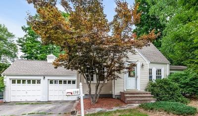 Westwood Single Family Home Under Agreement: 138 Willard Cir
