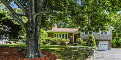 Dedham Single Family Home Back On Market: 92 Booth Road
