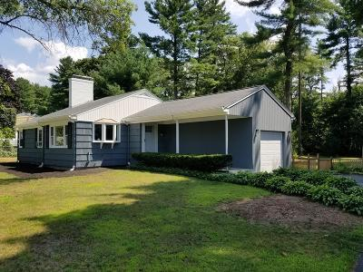 West Bridgewater Single Family Home Under Agreement: 55 Pinecrest Rd