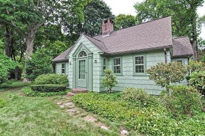 Mansfield Single Family Home Under Agreement: 387 Willow St