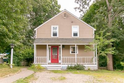 Marshfield Single Family Home Contingent: 61 Homestead Ave