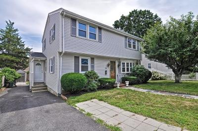 Waltham Single Family Home Under Agreement: 15 Caughey St