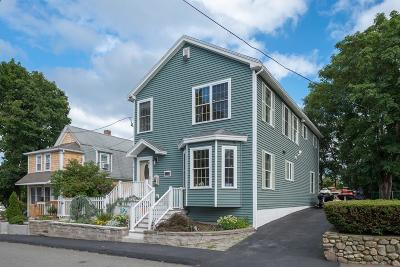 Quincy Single Family Home Price Changed: 135 Winthrop St.
