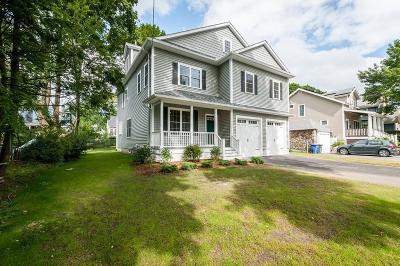Arlington MA Single Family Home Under Agreement: $1,449,000