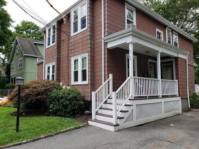 Newton Multi Family Home Under Agreement: 51-53 Bridges Ave