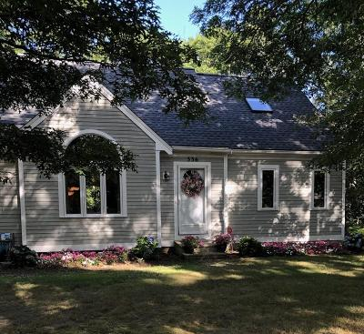 Falmouth Single Family Home Contingent: 336 Club Valley Dr