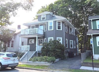 Quincy Multi Family Home Under Agreement: 25 Arnold Rd