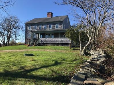 RI-Newport County Single Family Home For Sale: 90-B Old Main Rd