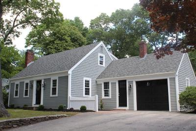 Hingham Single Family Home For Sale: 13 Forest Lane