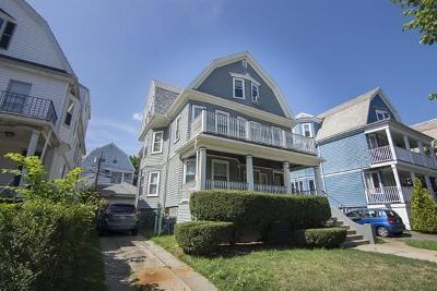 Somerville Multi Family Home Under Agreement: 104 Powder House Blvd