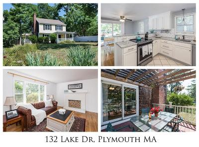 Plymouth Single Family Home For Sale: 132 Lake Dr