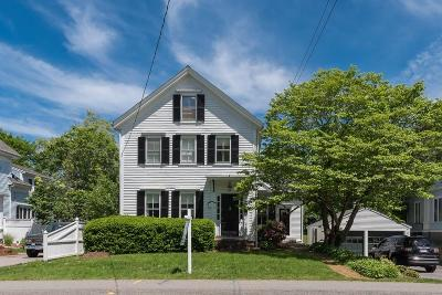 Hingham Single Family Home Reactivated: 662 Main St