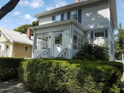 Beverly Single Family Home Under Agreement: 14 Gardner St