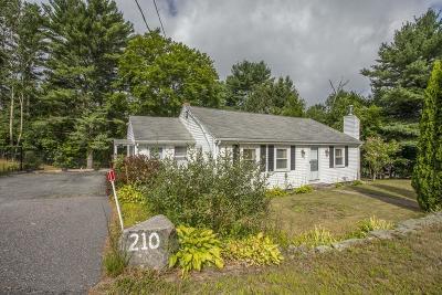 Middleboro Single Family Home Contingent: 210 Everett St