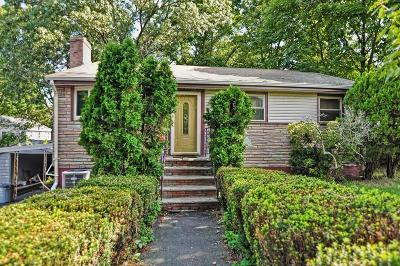 Dedham Single Family Home Under Agreement: 21 Clisby Ave