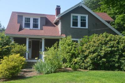 Needham Single Family Home Under Agreement: 78 Walnut St