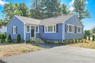 Burlington Single Family Home Under Agreement: 45 Lexington St