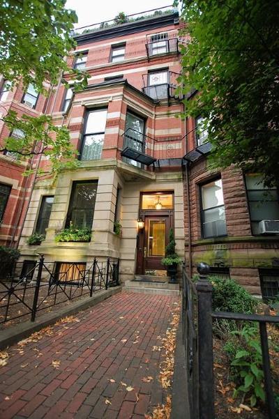 Condo/Townhouse Back On Market: 184 Marlborough Street #5