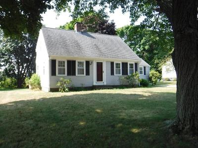 Scituate Single Family Home Under Agreement: 24 Blanchard Rd