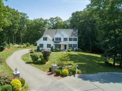 Milford Single Family Home Contingent: 9 Brook Hollow Rd